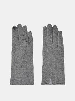 Šedé rukavice ONLY