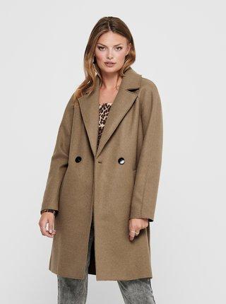 Béžový kabát ONLY