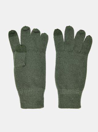 Zelené rukavice ONLY & SONS