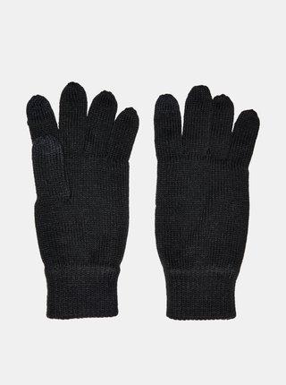 Čierne rukavice ONLY & SONS