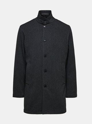 Tmavě šedý kabát Selected Homme