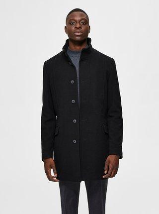 Černý kabát Selected Homme