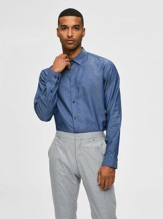 Modrá pánská košile Selected Homme