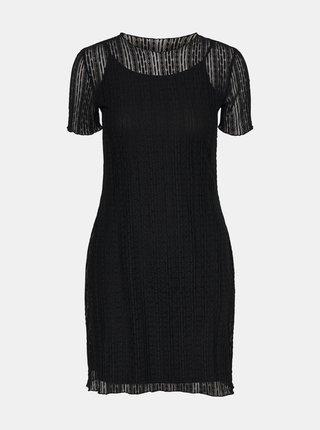 Černé šaty Noisy May Miles