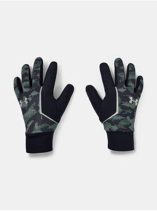 Rukavice Under Armour Mens CGI Run Liner Glove-BLU