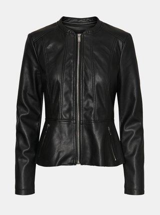 Jachete din piele naturala si sintetica pentru femei VERO MODA - negru