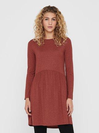 Hnědé šaty Jacqueline de Yong