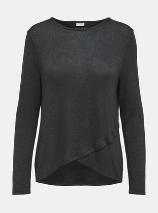 Šedé tričko Jacqueline de Yong