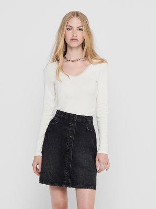 Bílé tričko Jacqueline de Yong