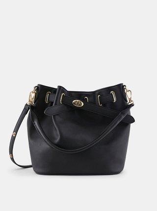 Čierna kabelka Pieces Rolle
