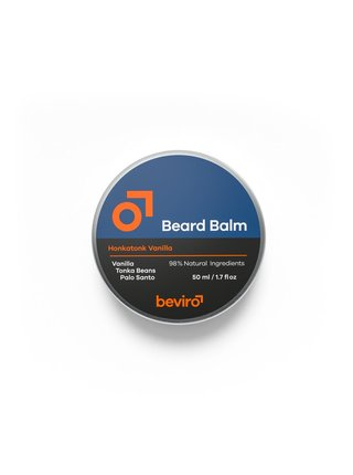 Beviro Balzám na vousy Honkatonk Vanilla - 50 ml