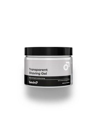 Beviro Neviditelný gel na holení - 500 ml