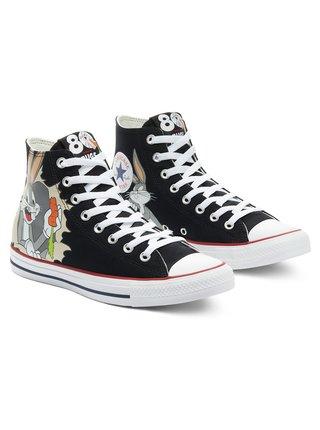 Converse černé kotníkové tenisky Chuck Taylor All Star Bugs Bunny