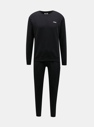 Černé pánské pyžamo FILA