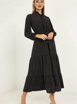 Marimi curvy pentru femei QUIZ - negru
