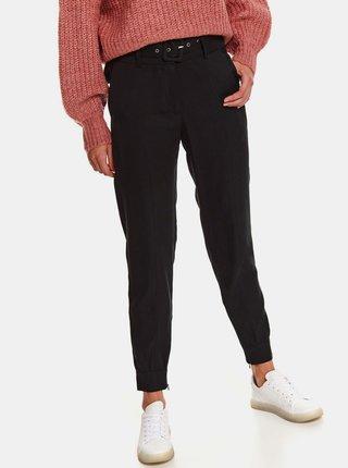 Čierne nohavice s opaskom TOP SECRET