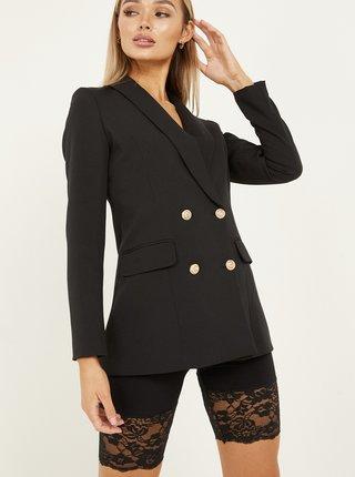 Sacouri si blazere pentru femei QUIZ - negru