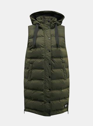 Tmavě zelená dámská prošívaná vesta ZOOT Denisa