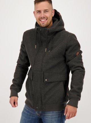 Jachete de iarna pentru barbati Alife and Kickin - gri inchis