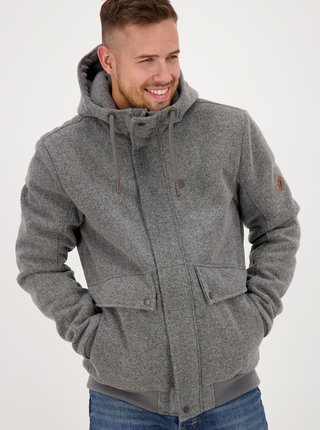 Jachete de iarna pentru barbati Alife and Kickin - gri
