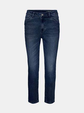 Tmavě modré straight fit džíny Noisy May