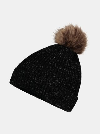 Čierna čiapka Hailys