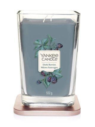 Yankee Candle vonná svíčka Elevation Dark Berries hranatá velká 2 knoty