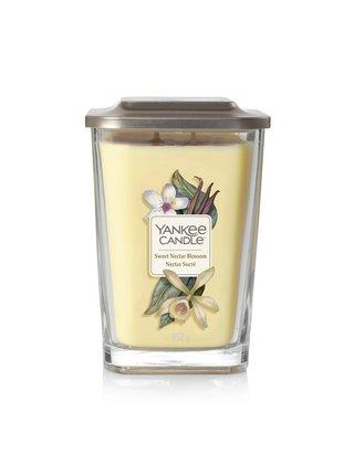 Yankee Candle vonná svíčka Elevation Sweet Nectar Blossom hranatá velká 2 knoty