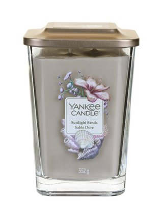 Yankee Candle vonná svíčka Elevation Sunlight Sands hranatá velká 2 knoty
