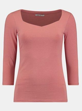 Růžové tričko Hailys