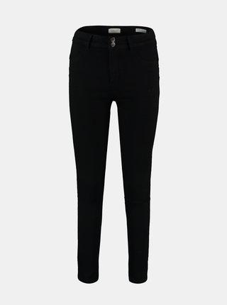 Černé skinny fit kalhoty Hailys