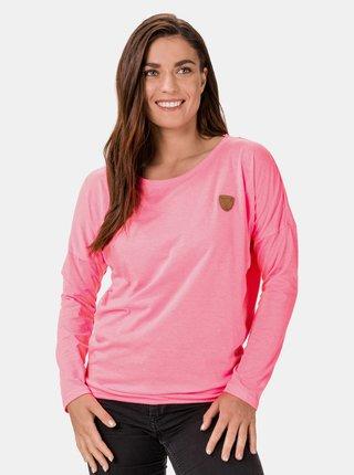 Růžové dámské tričko SAM 73