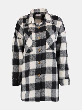 Čierna kockovaná košeľa Hailys