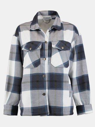Modro-šedá kockovaná košeľa Hailys