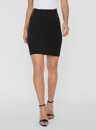 Čierna púzdrová sukňa VERO MODA