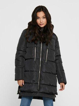 Černý zimní kabát ONLY Nora