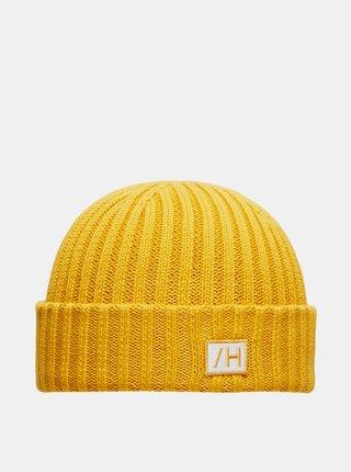 Žltá čiapka Selected Homme
