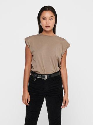 Tricouri pentru femei ONLY - bej