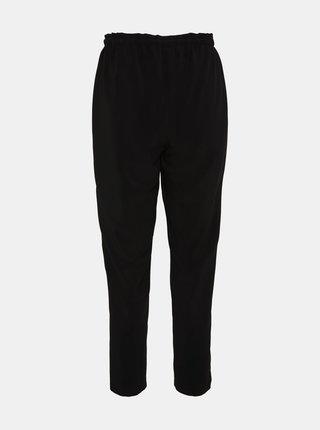 Čierne skrátené nohavice VERO MODA