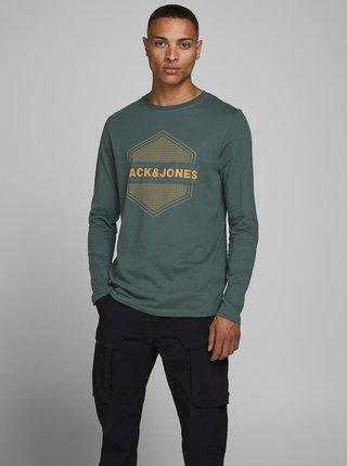 Zelené tričko Jack & Jones Pendent