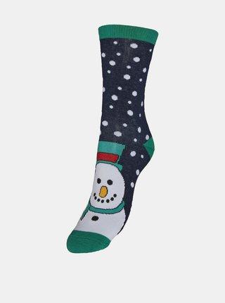 Sada čtyř párů ponožek s vánočním motivem VERO MODA