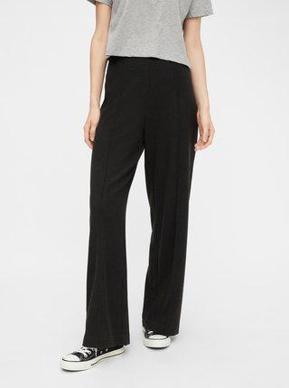 Pantaloni chino pentru femei Pieces - gri inchis