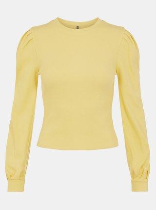 Žlté tričko Pieces