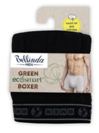 Pánské boxerky GREEN ECOSMART BOXER - Pánské boxerky z bio bavlny - černá