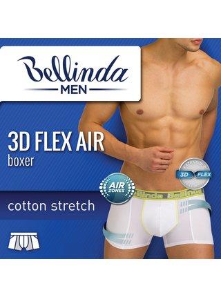 Pánské boxerky 3D FLEX AIR BOXER - Pánské boxerky s 3D flex bavlnou vhodné pro sport - černá