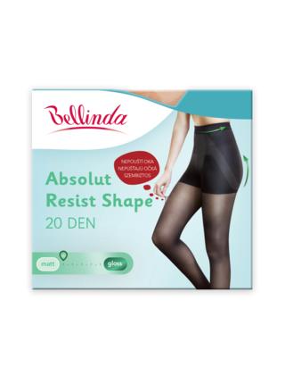 Punčochové kalhoty ABSOLUT RESIST SHAPE 20 DEN - Formující punčochové kalhoty, navíc nepouští oka - amber