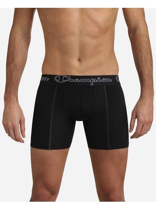 CHAMPION LONGBOXER PERFORMANCE - Sportovní boxerky s prodlouženými nahavičkami - černá