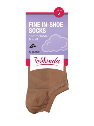 Dámské ponožky FINE IN-SHOE SOCKS - Dámské nízké ponožky - bílá