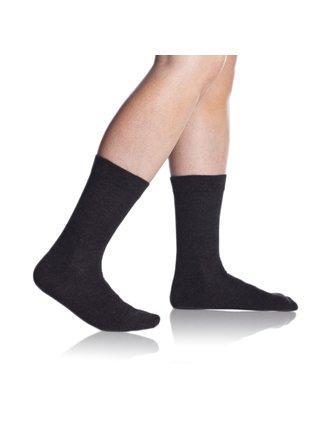 Pánské ponožky FIT (HEALTHY) SOCKS - Zdravotní pánské ponožky - šedý melír