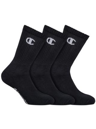 CHAMPION CREW SOCKS LEGACY 3x - Sportovní ponožky 3 páry - černá